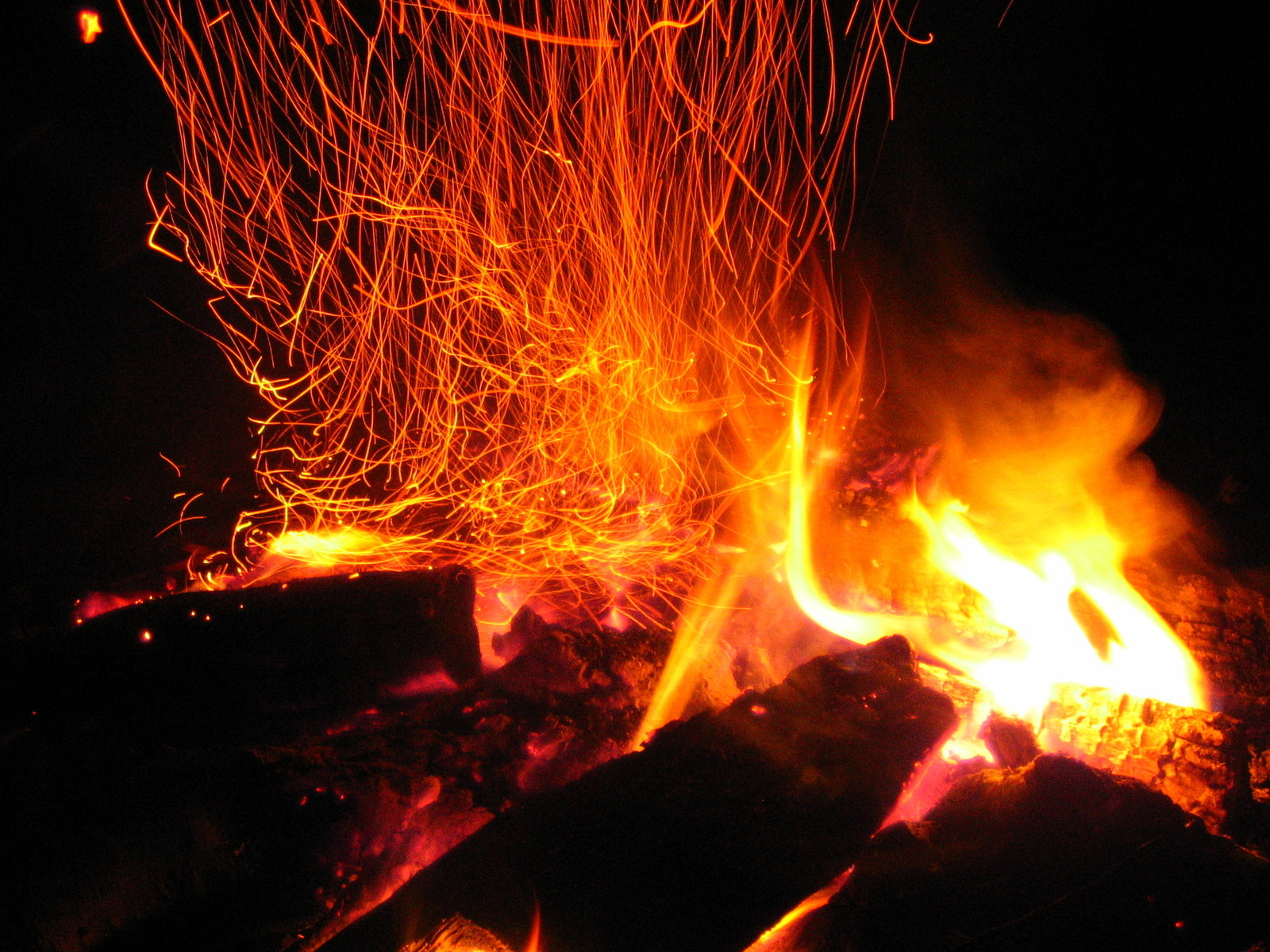 The ways we can disseminate B2B stories has spread like these sparks from a single fire pit